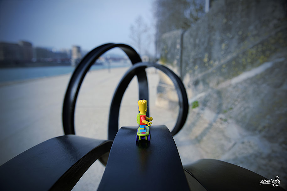 Miniature Lego Adventures By French Photographer Samsofy