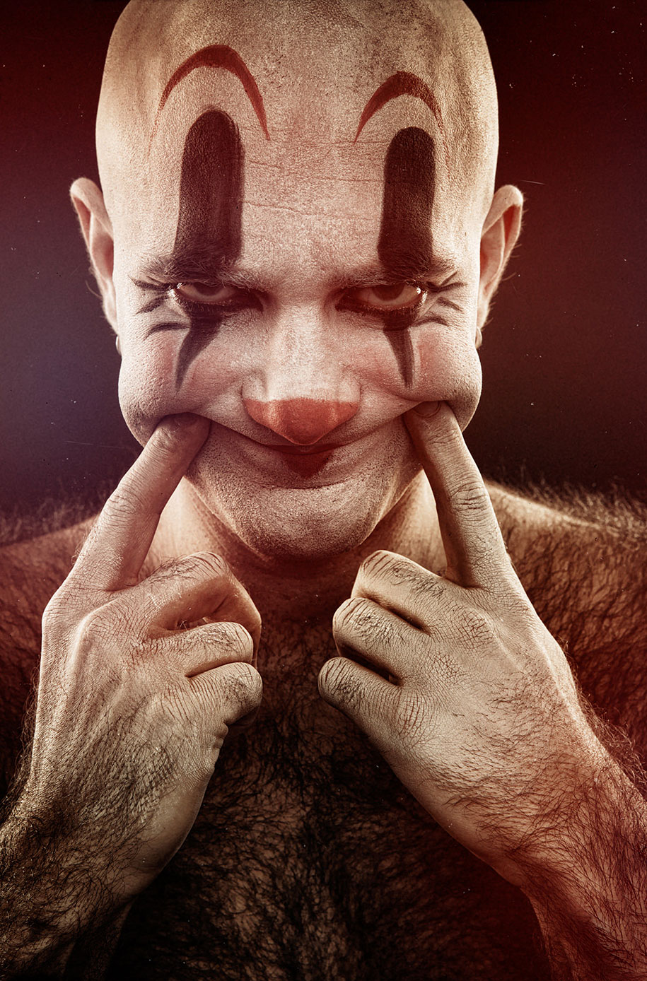 macabre-scary-clown-portraits-clownville-eolo-perfido-3