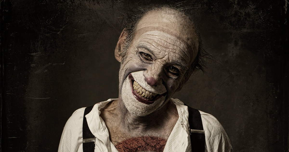 Terrifying Clown Portraits By Eolo Perfido Will Give You ...  Horror Movie Nightmares