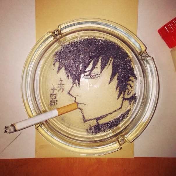 people-anime-portraits-cigarette-ash-art-shinrashinge-japan-1-605x6051