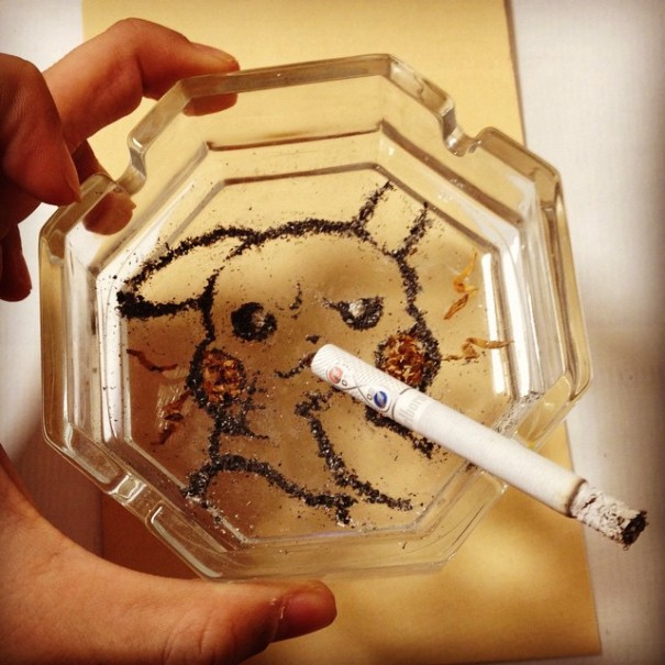people-anime-portraits-cigarette-ash-art-shinrashinge-japan-5