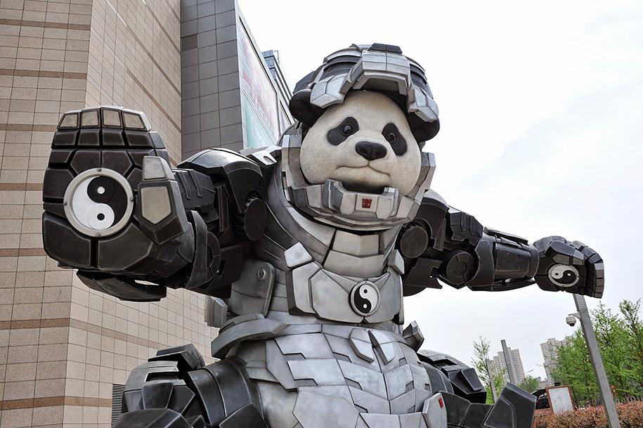 superhero-bear-statue-iron-panda-bi-heng-china-2