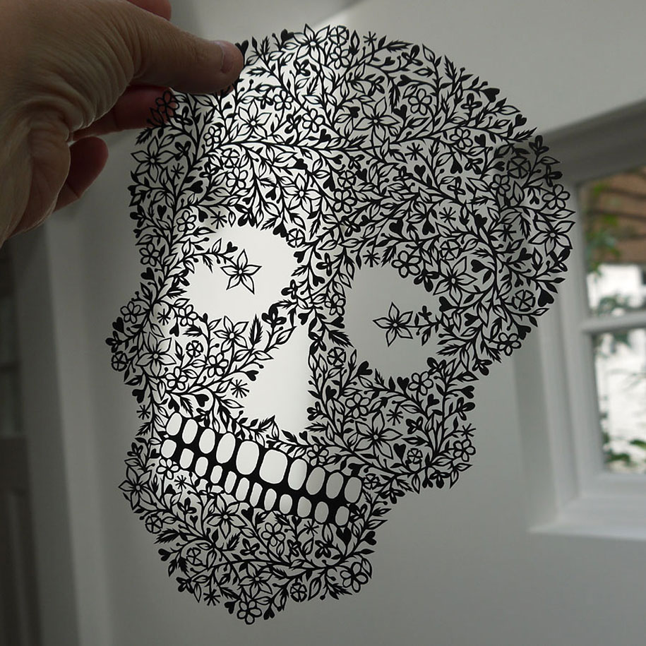 Incredible Paper Art HandCut From Single Sheets Of Paper By Suzy - Intricate hand cut paper art maude white
