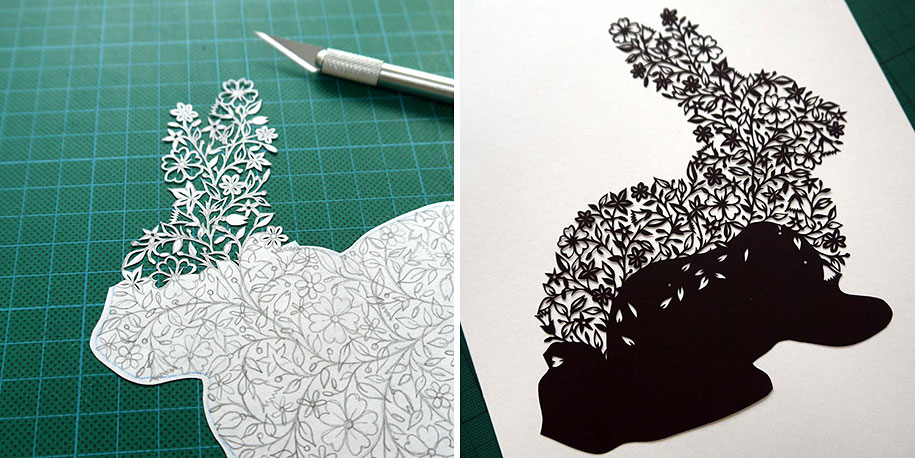 Incredible Paper Art Hand-Cut From Single Sheets Of Paper By Suzy ...
