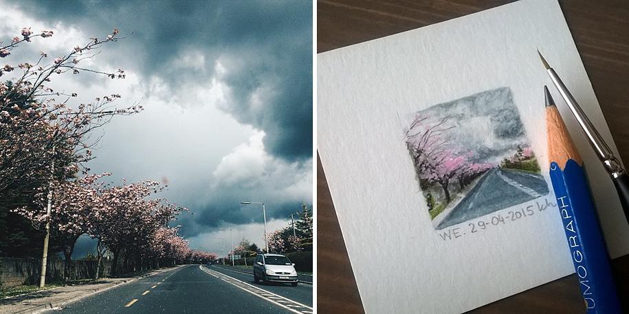 daily-instagram-inspired-art-drawings-tiny-spring-kasia-haldas-12