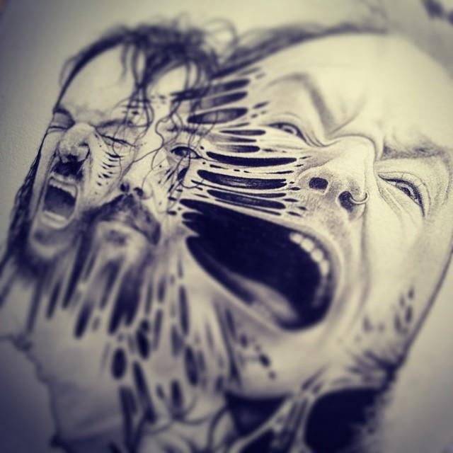 eerie-gruesome-gothic-black-white-animal-skull-art-paul-jackson-1