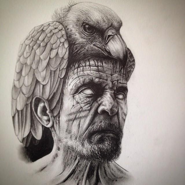 eerie-gruesome-gothic-black-white-animal-skull-art-paul-jackson-7