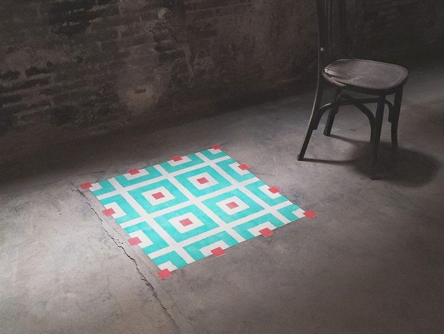 graffiti-spray-paint-tile-pattern-floor-installations-javier-de-riba-8