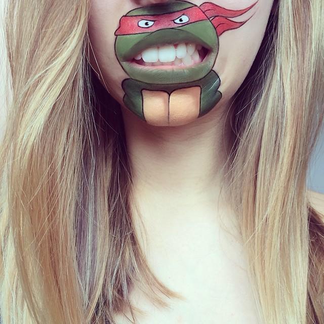 make-up-face-paint-cartoon-character-lips-laura-jenkinson-10