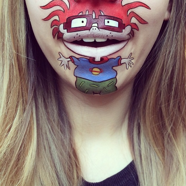 make-up-face-paint-cartoon-character-lips-laura-jenkinson-15