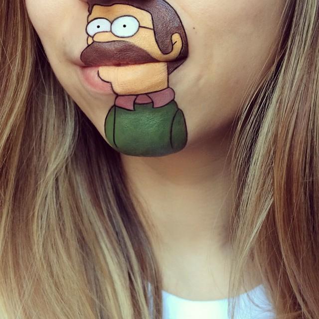 make-up-face-paint-cartoon-character-lips-laura-jenkinson-30