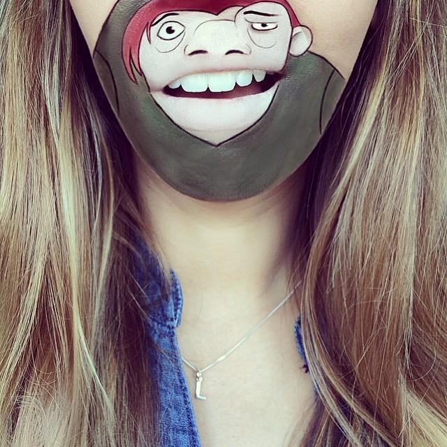 make-up-face-paint-cartoon-character-lips-laura-jenkinson-31