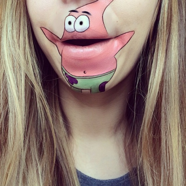 make-up-face-paint-cartoon-character-lips-laura-jenkinson-6