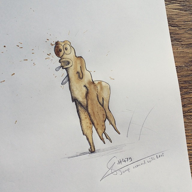 coffee-stain-doodle-monsters-coffeemonsters-stefan-kuhnigk10