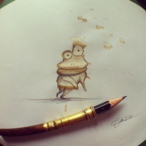 coffee-stain-doodle-monsters-coffeemonsters-stefan-kuhnigk40