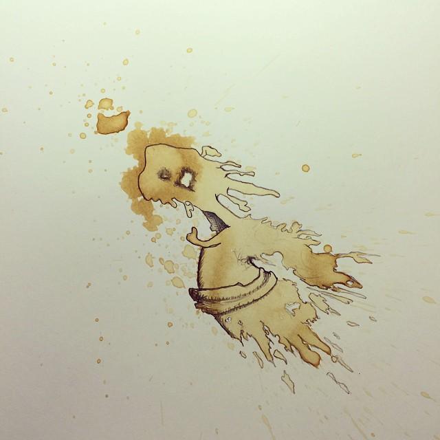 coffee-stain-doodle-monsters-coffeemonsters-stefan-kuhnigk75