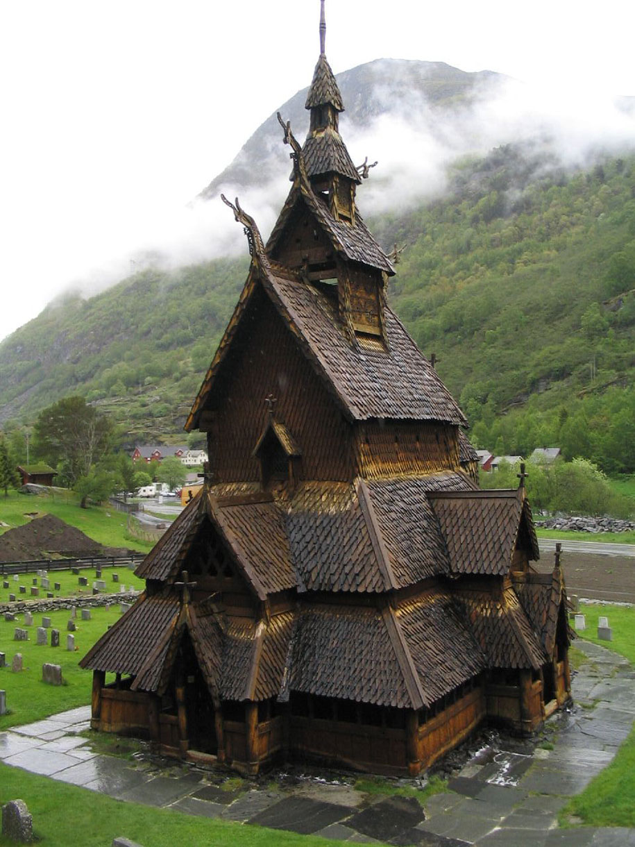 20 photos of norway s fairy tale architecture - Norwegian wood houses ...