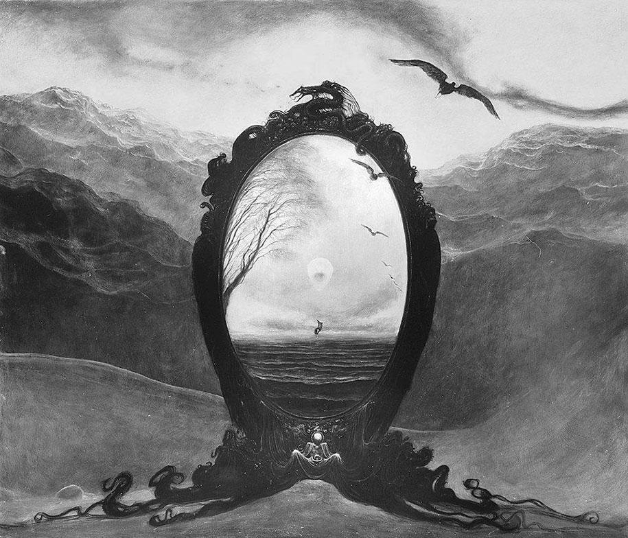gothic-dystopian-postapocalyptic-surreal-paintings-zdzisław-beksinski-16