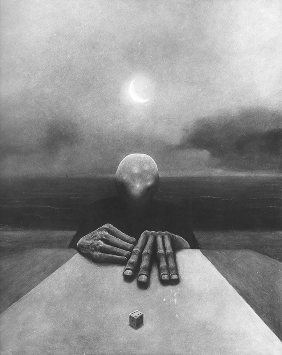 gothic-dystopian-postapocalyptic-surreal-paintings-zdzisław-beksinski-27