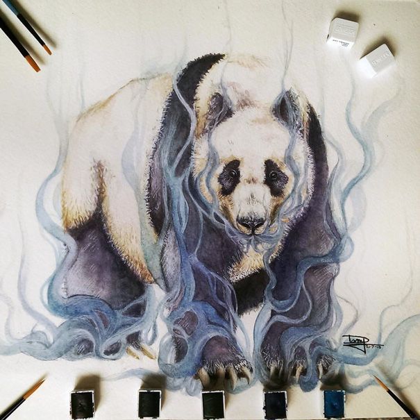realistic-watercolor-paintings-pencil-coloring-dany-lizeth-2
