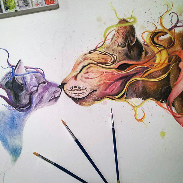 realistic-watercolor-paintings-pencil-coloring-dany-lizeth-5