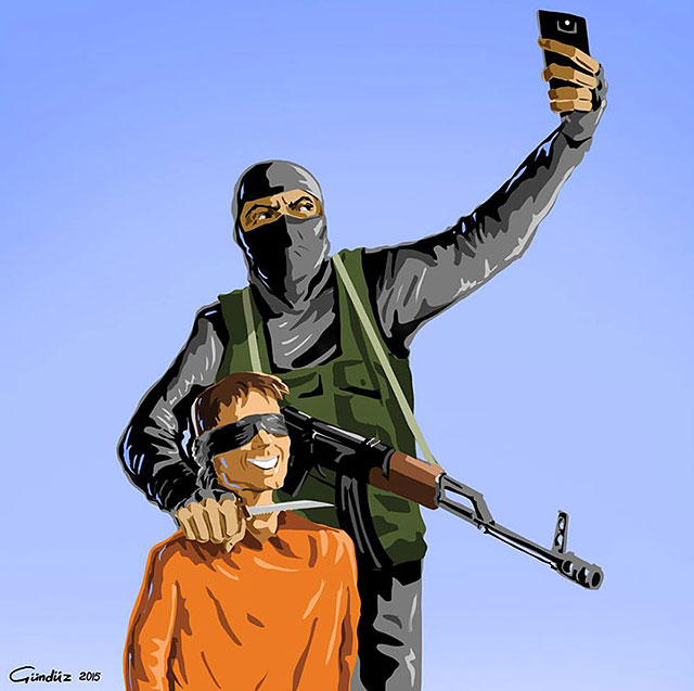 Holy Selfie Satirical Illustrations Of Religious Figures Taking