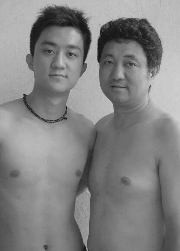 Mom and dad naked