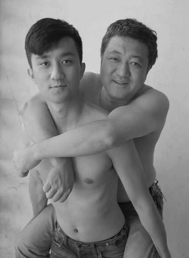 Father and son sex video