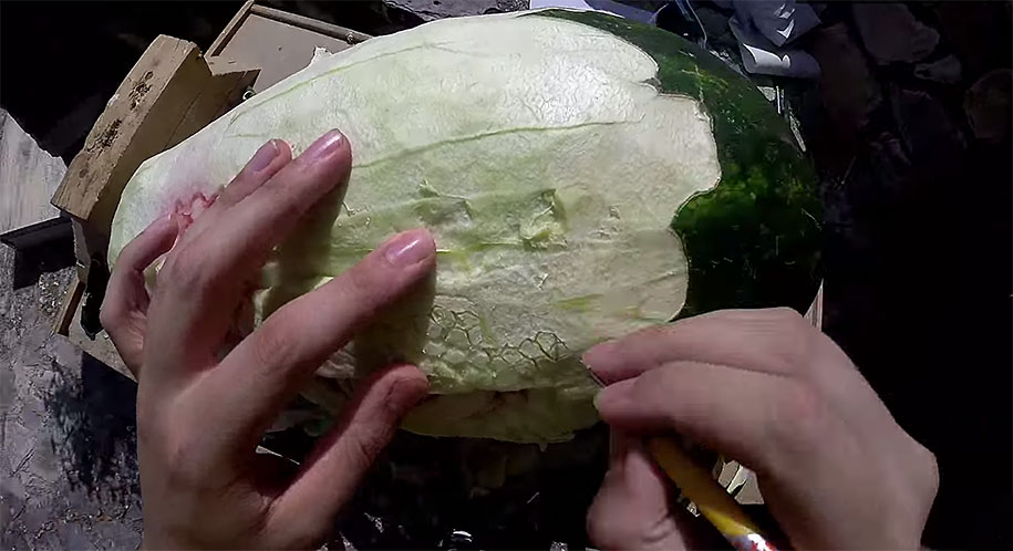 watermelon-carving-dragon-valeriano-fatica-italy-5