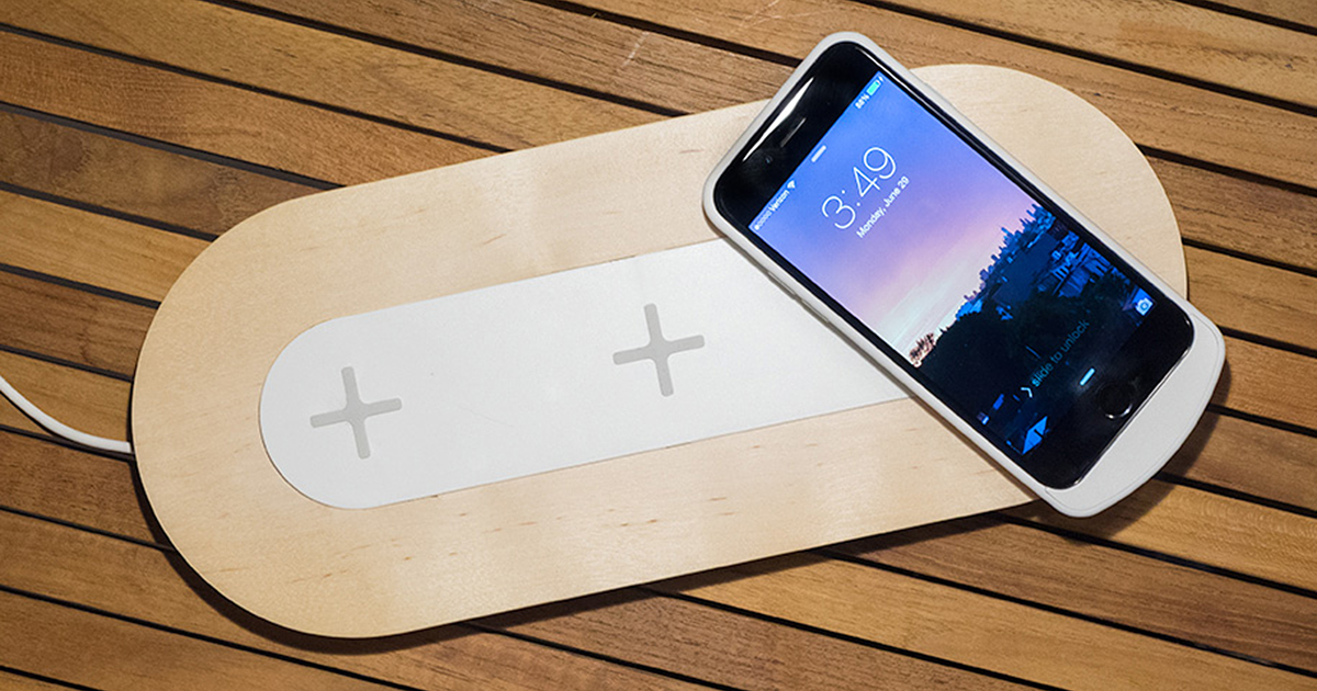 ikea s wireless charging furniture brings the future to. Black Bedroom Furniture Sets. Home Design Ideas