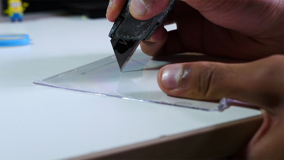 how to make real hologram projector
