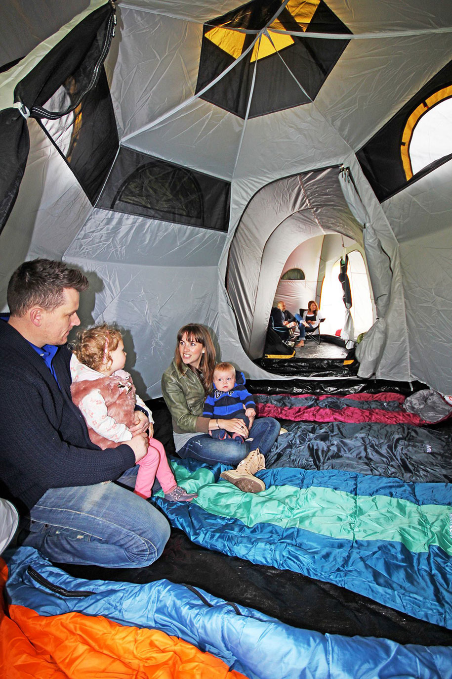 Modular Pod Tents Connect To Build A Tent Town Demilked