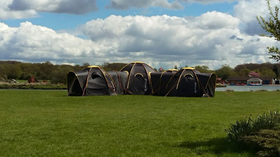 connecting-tunnel-pod-tents-jason-thorpe-m2c-innovation- & Modular POD Tents Connect To Build A Tent Town