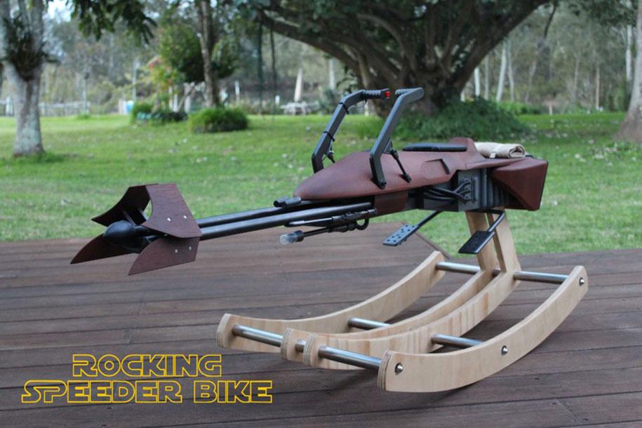 dad-builds-star-wars-speeder-bike-rocking-horse-tez-gelmir-1