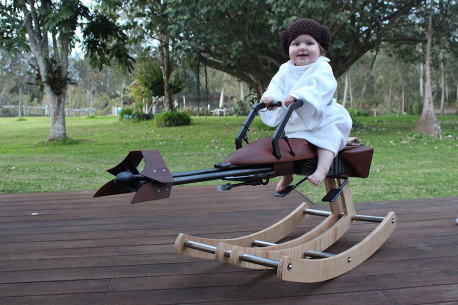 dad-builds-star-wars-speeder-bike-rocking-horse-tez-gelmir-2