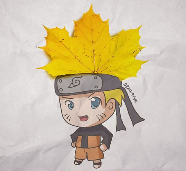 Naruto Characters Recreated Using Everyday Objects