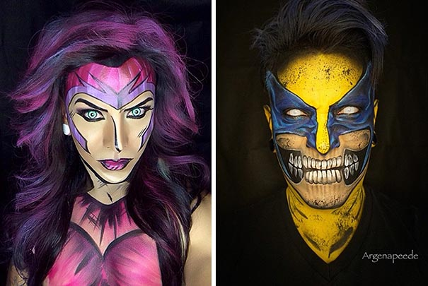 make-up-body-paint-comic-book-superhero-cosplay-argenis-pinal-1