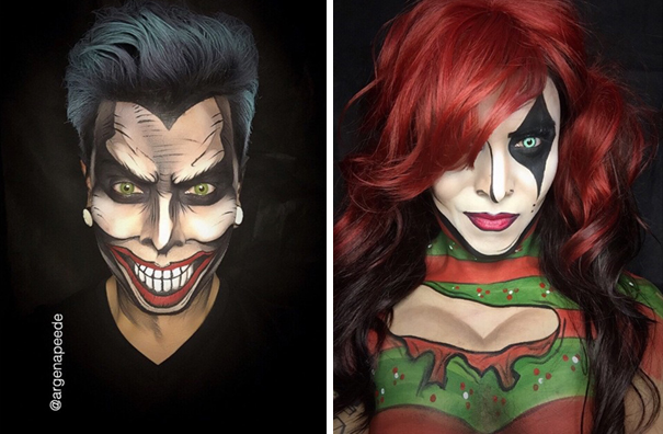 make-up-body-paint-comic-book-superhero-cosplay-argenis-pinal-3