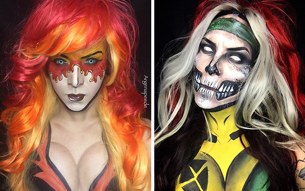 make-up-body-paint-comic-book-superhero-cosplay-argenis-pinal-4