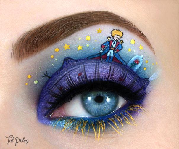 Israeli Artist Draws Amazing Make-Up Art On Her Own Eyelids  Israeli Artist ...