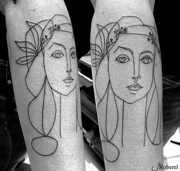 minimalist-art-picasso-tattoos36