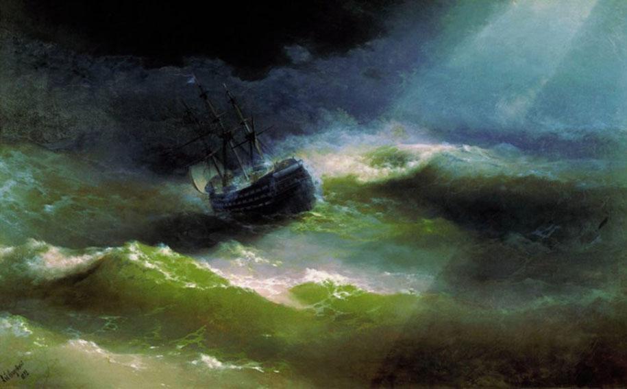 Motivos modernos (Pintura, Fotografía cosas así) - Página 4 Translucent-waves-19th-century-painting-ivan-konstantinovich-aivazovsky-15