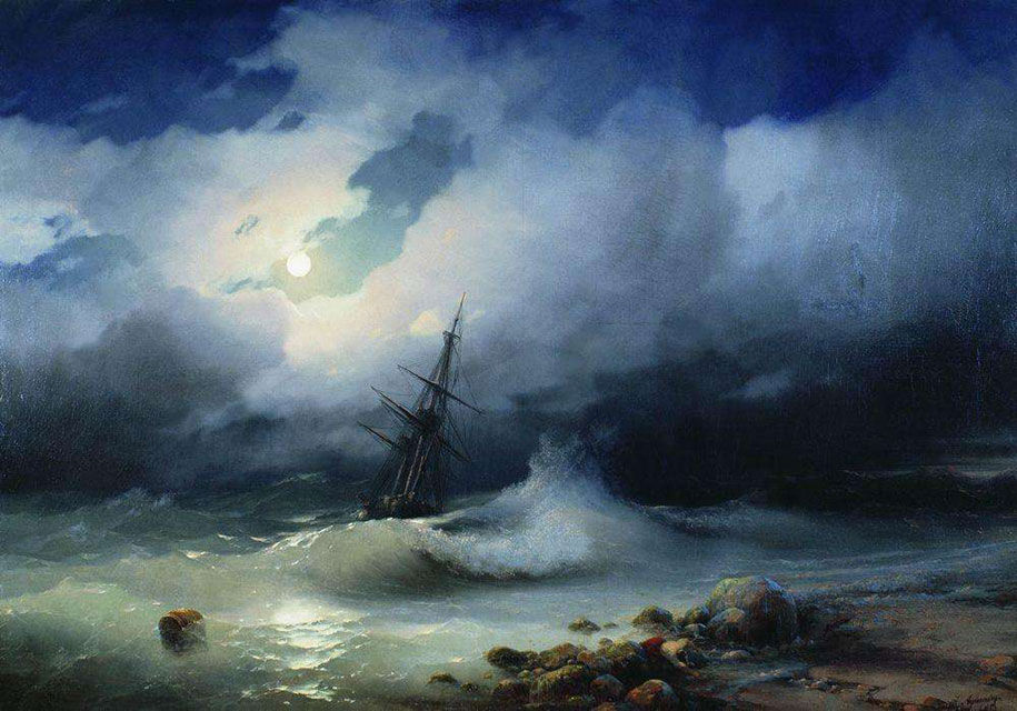 translucent-waves-19th-century-painting-ivan-konstantinovich-aivazovsky-2