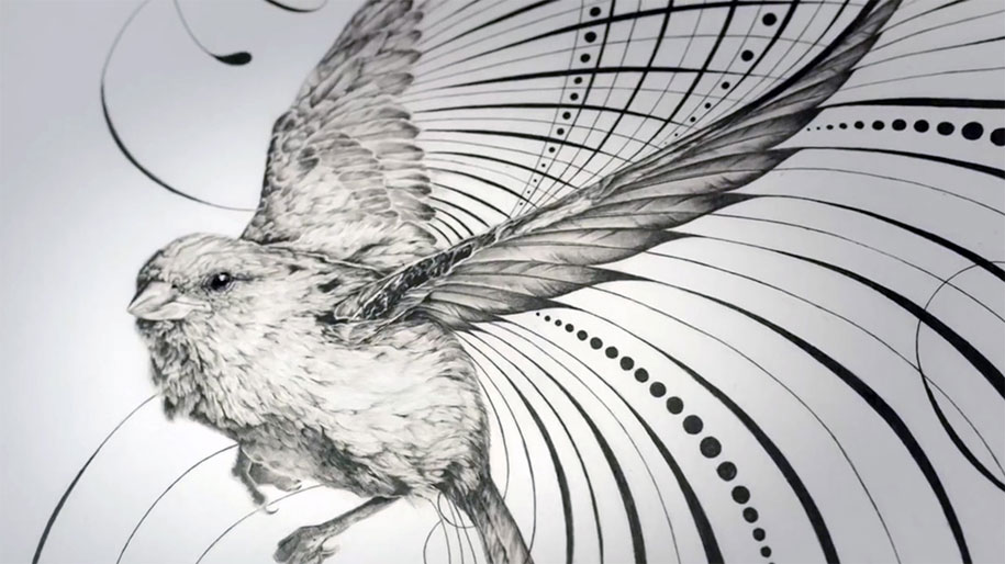 the world u2019s youngest master penman shows the beauty of an