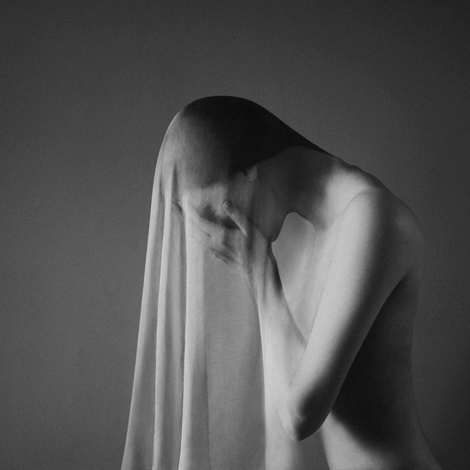 Powerful Black-And-White Self-Portraits That Express The