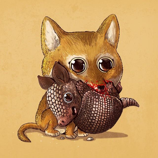cute-gruesome-animal-drawings-predator-prey-alex-solis-alexmdc-18