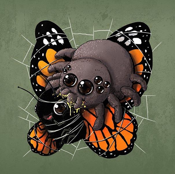 cute-gruesome-animal-drawings-predator-prey-alex-solis-alexmdc-5