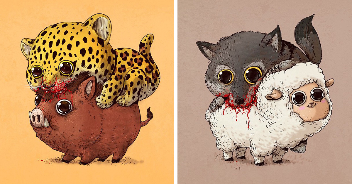 Gallery For > Cute Made Up Animals Drawings