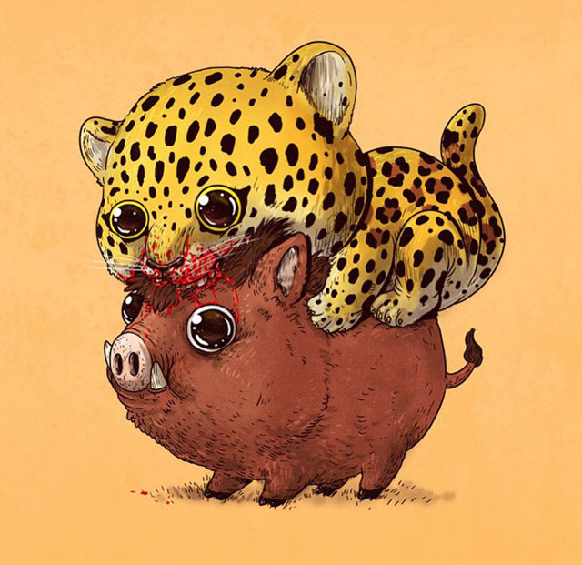 Cute Predators VS Used-To-Be-Cute Prey (Part 2)