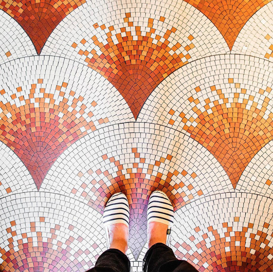 Parisian Floor Photography Will Inspire You To Look Down